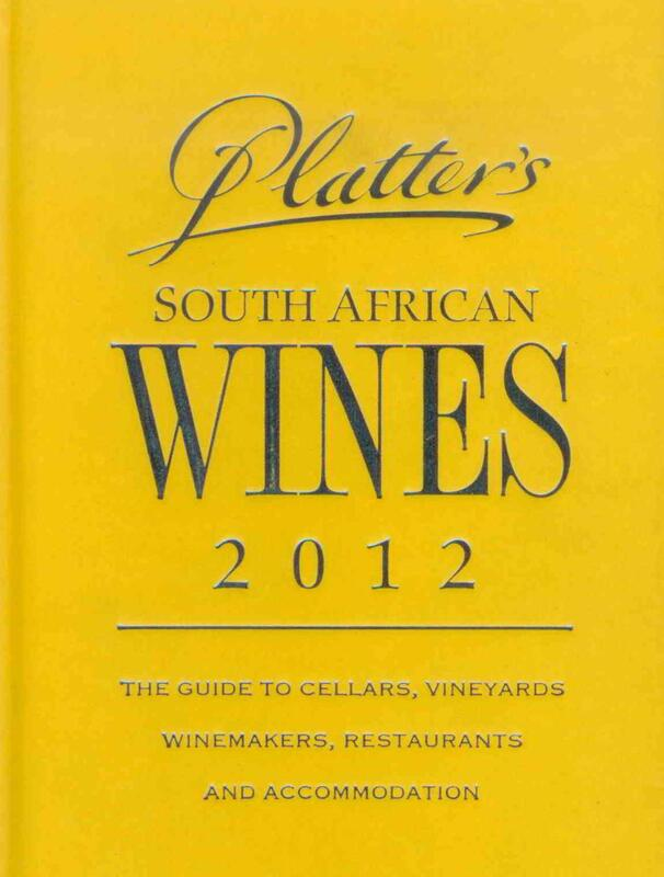 Percy Tours Hermanus in 2012 John Platter wine book of South Africa