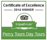 2014 Winner of Excellence on TripAdvisor