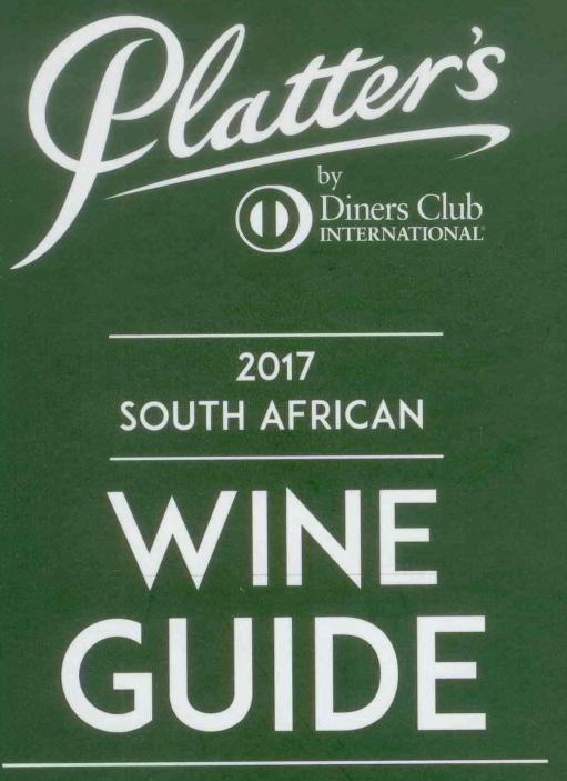 Percy Tours Hermanus in 2017 John Platter wine book of South Africa