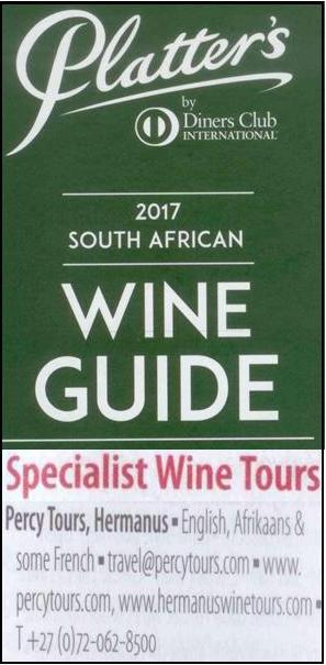 wine tours of Hermanus with www.percytours.com