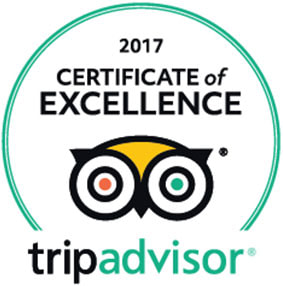 2017 Winner of Excellence by Percy Tours, Hermanus