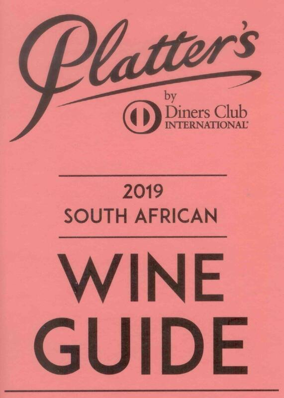 Percy Tours Hermanus in 2019 John Platter wine book of South Africa