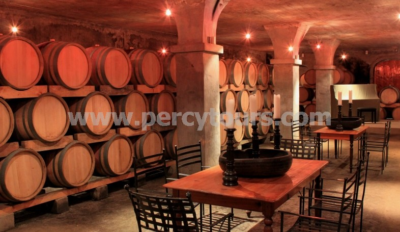 Wine cellars on Wine Tours, Hermanus