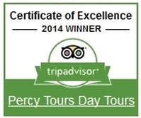 Percy Tours Hermanus TripAdvisor Winner of Excellence