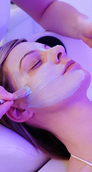 Facials and beauty treatments