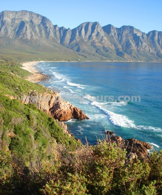 Beaches and Mountain ranges of Hermanus
