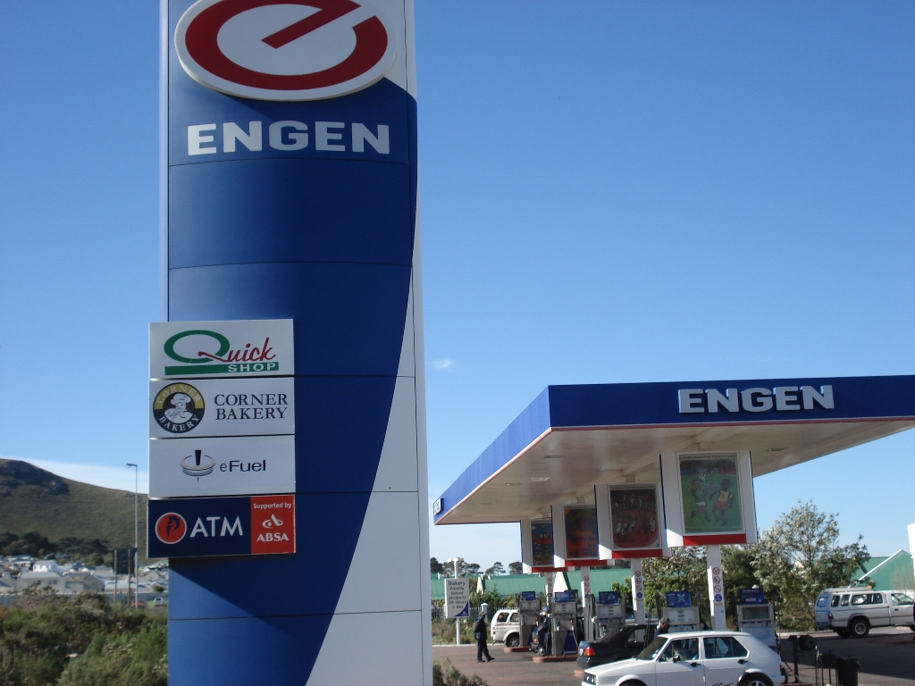 Engen garage, Hermanus