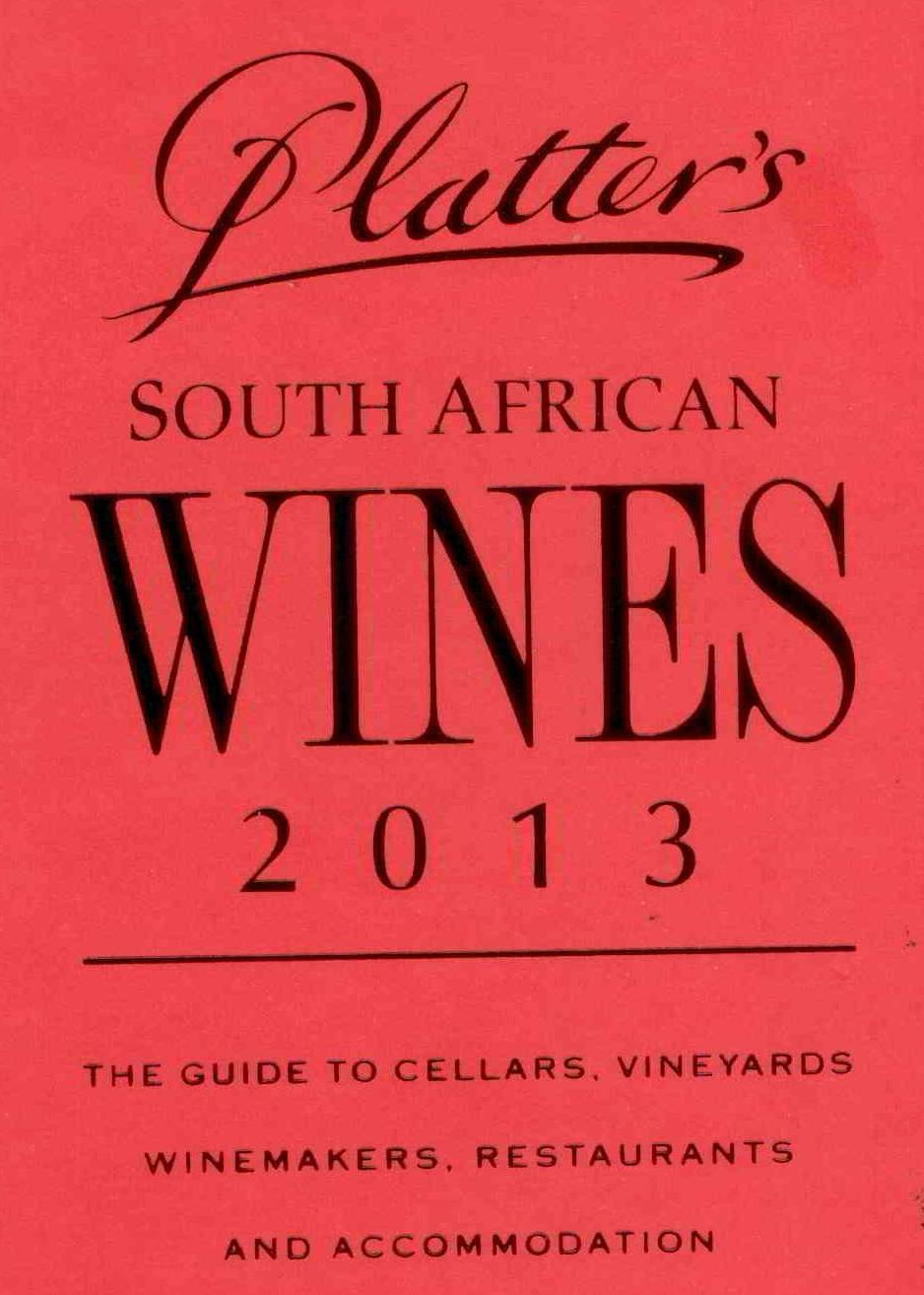 Percy Tours Hermanus in 2013 John Platter wine book of South Africa