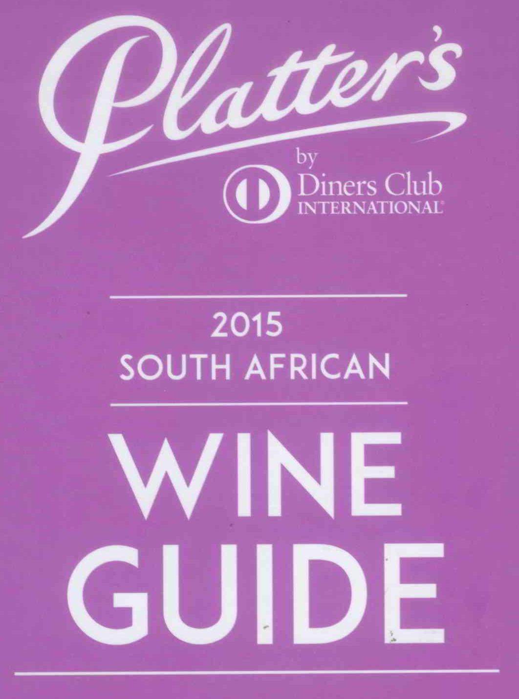John Platter 2015 South Africa Wine Book recommends Percy Tours as the ONLY Wine Tour Guide of the Hermanus wine region, South Africa