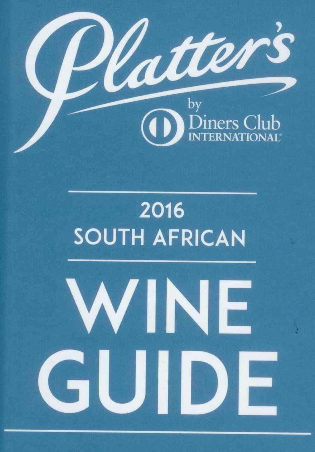 Percy Tours Hermanus in 2016 John Platter wine book of South Africa