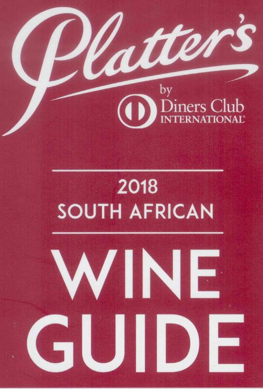 Percy Tours Hermanus in 2018 John Platter wine book of South Africa