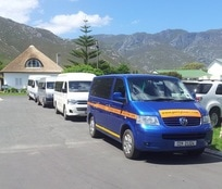 Fleet of luxury minibuses, Hermanus