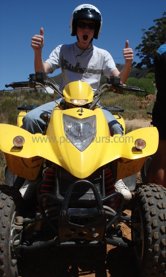 Happy Quad Biker, Hermanus