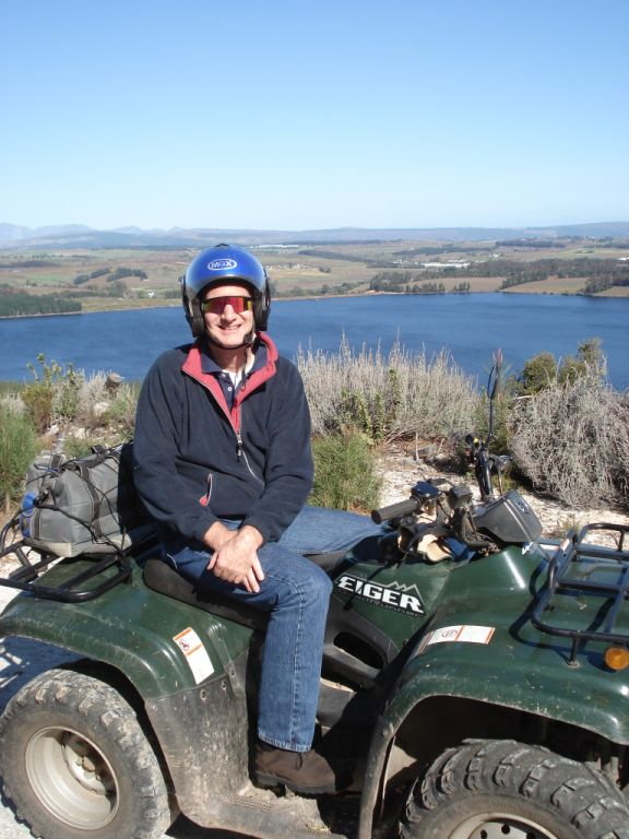 Quad Biking in the mountains near Hermanus, South Africa