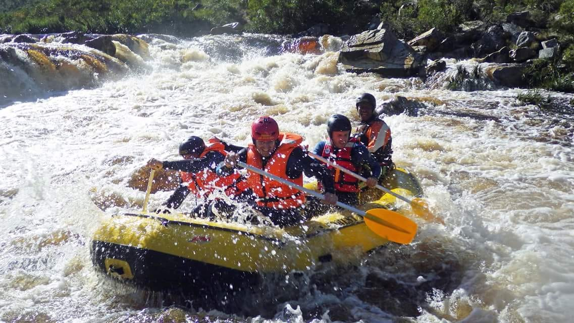 White Water rafting and tubing near Hermanus, South Africa