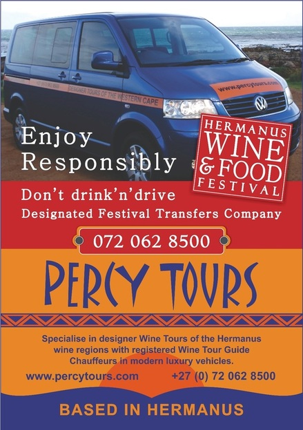 Wine Festival of Hermanus with Percy Tours